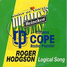 "ROGER HODGSON ""THE LOGICAL SONG - NIGHT OF THE PROMS 95"" RARE SPANISH PROMO CD"