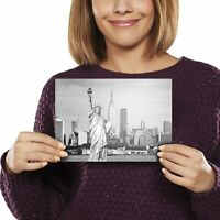A5 - Statue of Liberty New York City NYC Print 21x14.8cm 280gsm #13259