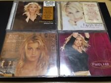 FAITH HILL 4-DISCS: BREATHE + LOVE WILL ALWAYS WIN + 2 SINGLES: THERE YOU'LL BE