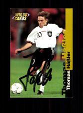 Thomas Häßler Deutschland Panini Card WM 1998 Original Signiert+ A 182302