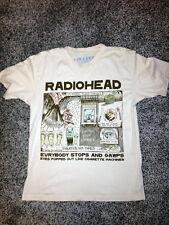 RADIOHEAD Vintage Kid A / Amnesiac T-Shirt - Size M