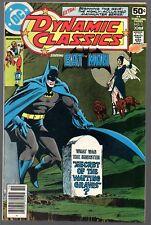 Dynamic Classics 1   Batman/ Neal Adams art    DC 1978