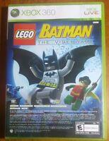 LEGO Batman: The Videogame and Pure (Microsoft Xbox 360, 2009)