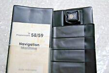 MODULE 5 NAVIGATION MARITIME Programmable Texas Instruments TI 58-C 59