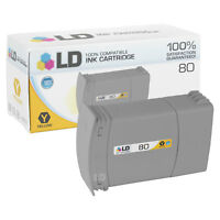 LD C4848A 80 Yellow Ink Cartridge for HP Printer