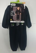 Halloween Costume Disney Star Wars Darth Vader Toddler 3-4 T Fantasy Dress Up GF