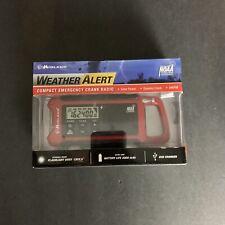 Midland ER200 Weather Alert Compact Emergency Crank Radio NEW Open Box