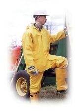 Abel 6900 Industrial Rainwear. Size Large with Pants Bib, Jacket and Hood