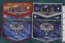 Got at 2018 NOAC: Woa Cholena (2) 2 Part Sets