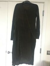 Rundholz Black Label Cotton Green Dress XL Lagenlook German Designer