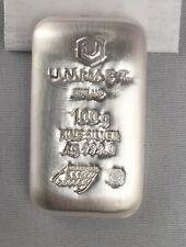 100g .999 Fine Silver Bar - Unimet
