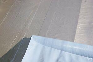 Aluminium Dachfolie KSK selbstklebend grau für Flachdachhäuser Gartenhaus 5 m²