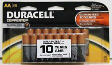 DURACELL Coppertop AA Batteries With DURALOCK MADE IN USA - Pack Of 16