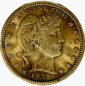 1909 Barber Quarter PCGS MS65 With CAC, Gold Shield, Sweet Gem
