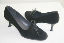 Stuart Weitzman Black Suede Women's Shoes Size 9 M