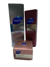 Phyto Paris Hair Shampoo, Plumping Mask & Intense Nutrition Mask Set Of 3 (1-51)