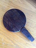 Dansk Teak Cheese Board & Knife Vintage MCM  Jens Quistgaard 4 Duck Logo Denmark