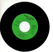 BOBBI MARTIN 45 RPM Record MAN WAS MADE TO LOVE WOMAN ... Northern Soul MINT