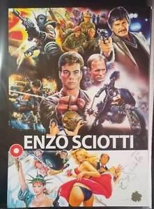 movie ENZO SCIOTTI 42x30 print Signed