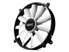 NZXT FZ-200 200mm Case Fan, 103 CFM, 20 dBA, RF-FZ20S-02, Non LED, 11 Blade