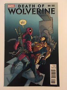 Death Of Wolverine #1 Deadpool Variant VF/NM