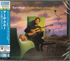 EARL KLUGH-SUDDEN BURST OF ENERGY-JAPAN CD Ltd/Ed B63