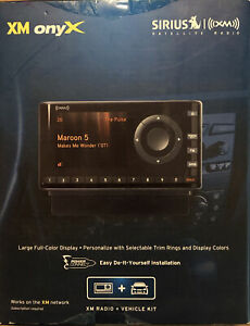 Sirius XM XDNX1V1 Onyx Satellite Radio + Car Vehicle Kit New Open Box