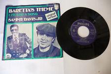 "SAMMY DAVIS JR.""BARRETTA'S THEME- DISCO 45 GIRI 7' PHILIPS Usa 1976"" OST"