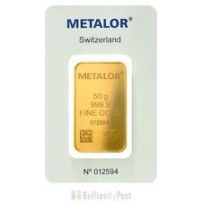 Metalor Gold Bullions