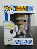 Star Wars Funko Pop - Luke Skywalker (Hoth) - Blue Box - No. 34