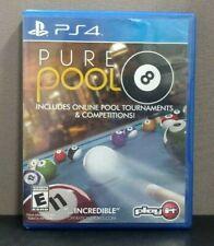 "Pure Pool      (Sony PlayStation 4)     ""E"""