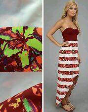NWT Hurley Scout Dress Strapless Wine Top Hi Low Skirt Side Zipper $50 Sz M med