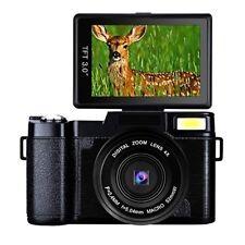 Digital Camera Full HD Video Camera 1080p 24.0MP Vlogging Camera Flip Screen 180