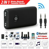 2-IN-1 Wireless 3.5mm Audio Adapter RX/TX Bluetooth 5.0 Transmitter Receiver
