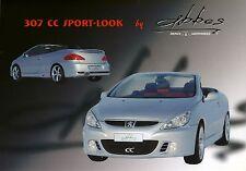 Peugeot 307 CC Sport Look Abbes 2005 catalogue brochure rare