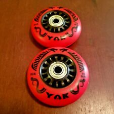 76mm (92A) Outdoor Replacement Inline Wheels / razor ripstik skate casterboard