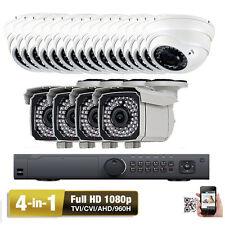 24Ch High Definition Hdtvi  00004000 Dvr 2.6Mp 4- in-1 1080P Tvi Ahd Cvbs Security Camera