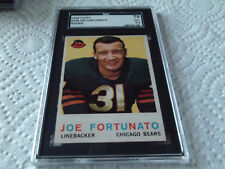 1959   JOE  FORTUNATO   #  106   TOPPS   CHICAGO  BEARS   SGC  70   FOOTBALL  !!