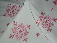 Super  Mitteldecke Tischdecke  Blumen 80 cm /80  cm  Handarbeit  Shabby Chic