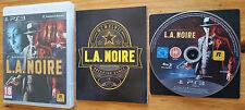 L.A NOIRE PS3 / FR intégral / blu-ray zero rayure / envoi gratuit