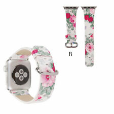 Fashion Lady girl Leather Watch Band Wrist Strap For Apple Watch Series 1 2 3