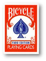 Limitada Edición Gilded Bicycle Faro (Rojo) Jugando a las Cartas Póquer Juego de