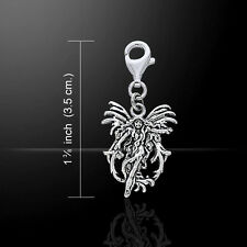 Fire Element Fairy .925 Sterling Silver Clip Charm by Peter Stone