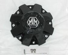 NEW MAYHEM GLOSS SHINY BLACK WHEEL RIM CENTER CAP C108010B C806801-1CAP TWG