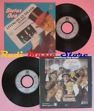 LP 45 7'' STATUS QUO Living on an island Runaway 1979 germany no cd mc dvd