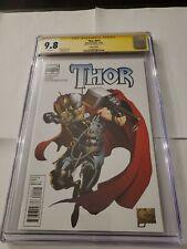 2010 Thor #615 Signature Series Variant 1: 25 CGC 9.8  Cameo Kid Loki.