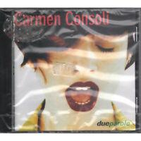 Carmen Consoli CD Due Parole / Polydor Universal 531 137-2 Sigillato
