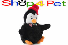 SQUEAKY DOG TOY ANCOL MERRY CHRISTMAS PENGUIN SOFT GREAT XMAS PRESENT for pet