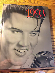 1993 USPS Commemorative SEALED Stamp Collection Book, MINT, featuring Elvis