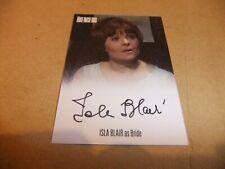 DIANA RIGG MacNEE THE AVENGERS COMPLETE ISLA BLAIR AVIB1 AUTOGRAPH CARD